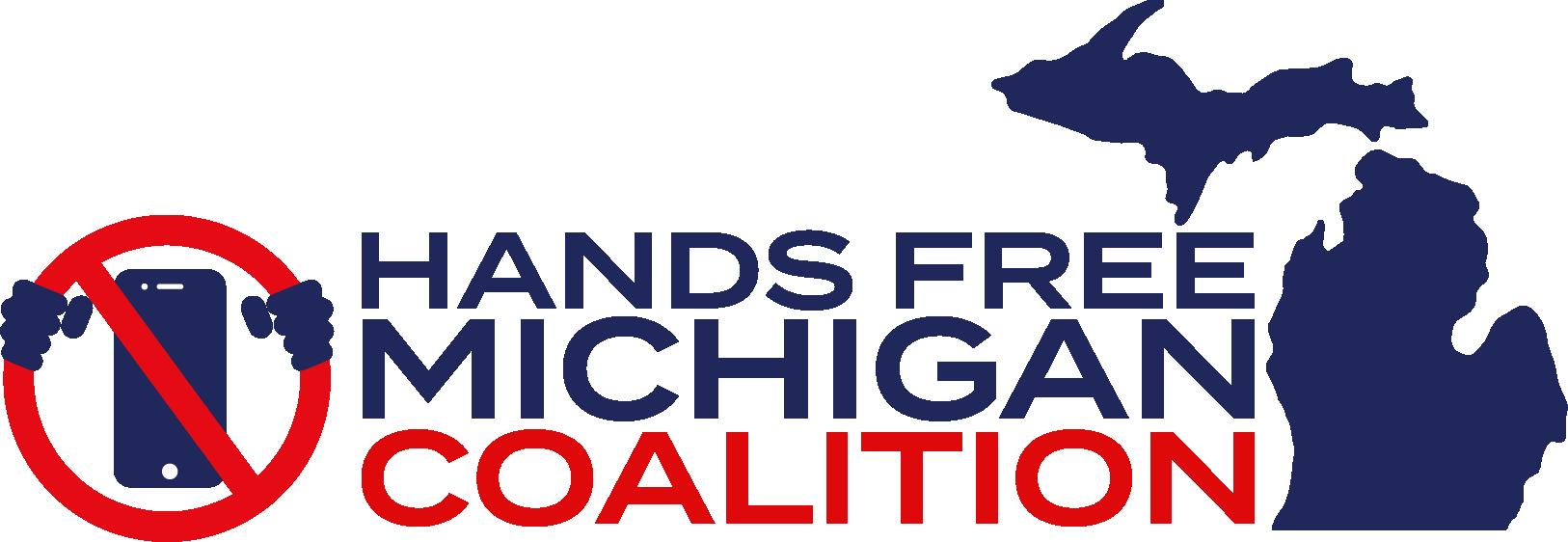 Hands Free Michigan Coalition Logo